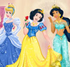Le bal des princesses Disney 2