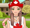 Fille Canadienne