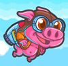 Rocket Pig - Tap to Fly