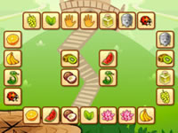 Jouer les fruits du petit singe jeux gratuits en ligne - Jeux de reliage ...