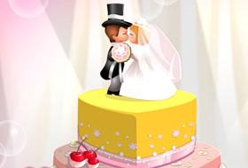 Bella S Wedding Cake Jeux De Cuisine