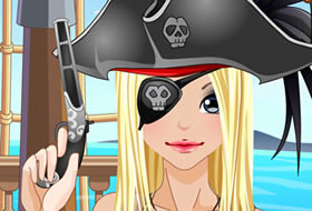 Fille pirate