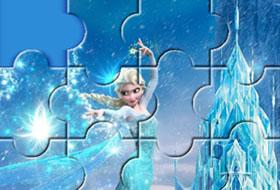puzzles la reine des neiges - Jeux En Ligne Reine Des Neiges