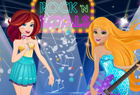 Barbie Rock'N'Royals