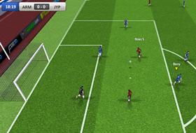 Jeux de Foot: Les grands matchs de foot ne sont plus réservés aux consoles. Devenez le prochain Pelé dans nos jeux de foot gratuits en ligne! Si vous aimez le football de table, ne cherchez plus car notre collection contient aussi de nombreux jeux de baby-foot.