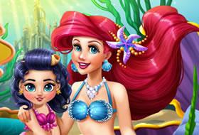 Jeux avec la petite sir ne jeux en ligne jeux gratuits - Jeux de ariel et son prince ...