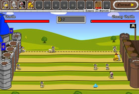 Knight Attack Castle Defense