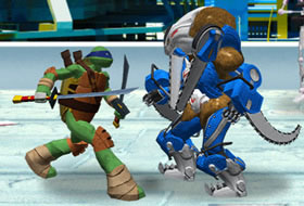 TMNT Vs Power Rangers 2