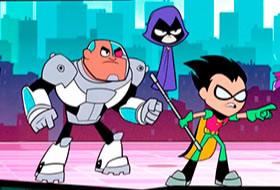 Slash of Justice - Teen Titans