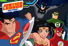 Justice League Action Nuclear Rescue