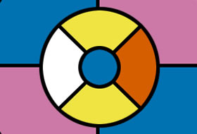 Four Color Theorem - Coloring Puzzle Game