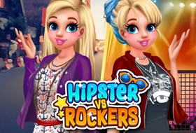 Hipsters Vs Rockers