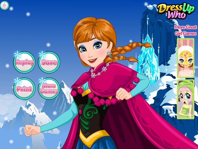 Jouer frozen anna makeover jeux gratuits en ligne avec - Jeux elsa gratuit ...