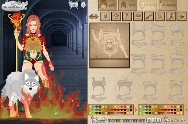 Jouer video game avatar creator jeux gratuits en ligne for Make 3d online