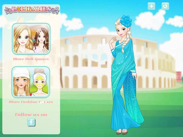 Jouer elsa autour du monde jeux gratuits en ligne avec - Jeux elsa gratuit ...