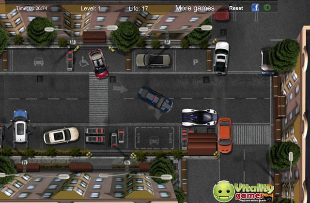 jouer garer une voiture de police jeux gratuits en ligne avec. Black Bedroom Furniture Sets. Home Design Ideas