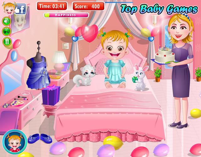 jeu de fille bebe hazel
