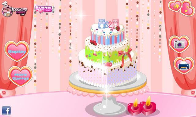 ... décorer un gâteau de mariage - Jeux gratuits en ligne avec Jeux.org