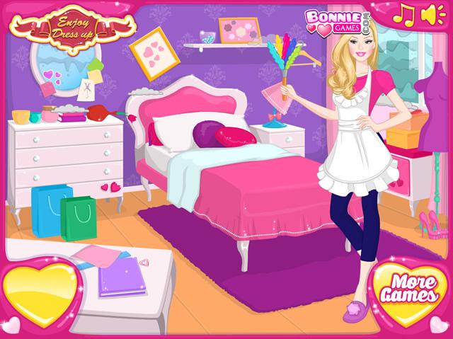 Jeux de nettoyage de maison maison design - Jeux de maison de barbie a decorer gratuit ...