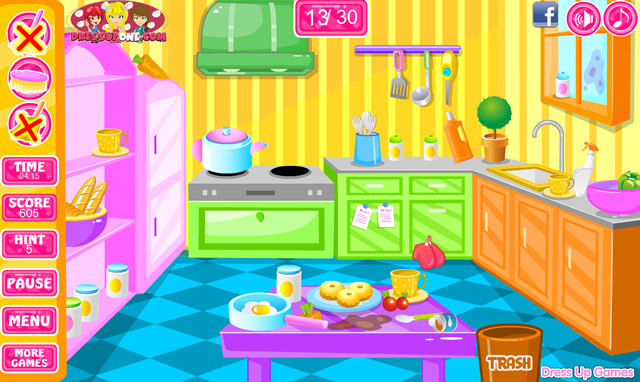 Jouer nettoyer la maison du sol au plafond jeux gratuits en ligne avec - Jeux de nettoyage de chambre ...