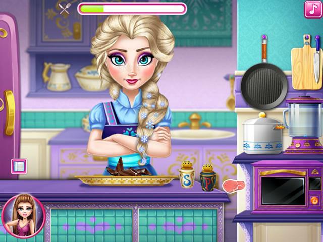 Jouer elsa fait la cuisine jeux gratuits en ligne avec - Jeux elsa gratuit ...