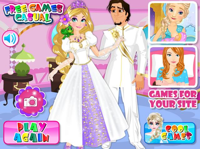robe de mariage jeux - Jeux De Raiponce Gratuit