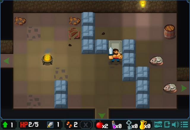 jouer cave quest jeux gratuits en ligne avec. Black Bedroom Furniture Sets. Home Design Ideas