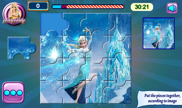 Jouer puzzles la reine des neiges jeux gratuits en ligne avec - Jeux gratuit la reine des neige ...