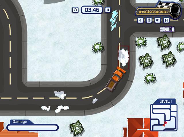 jouer garer un chasse neige jeux gratuits en ligne avec. Black Bedroom Furniture Sets. Home Design Ideas