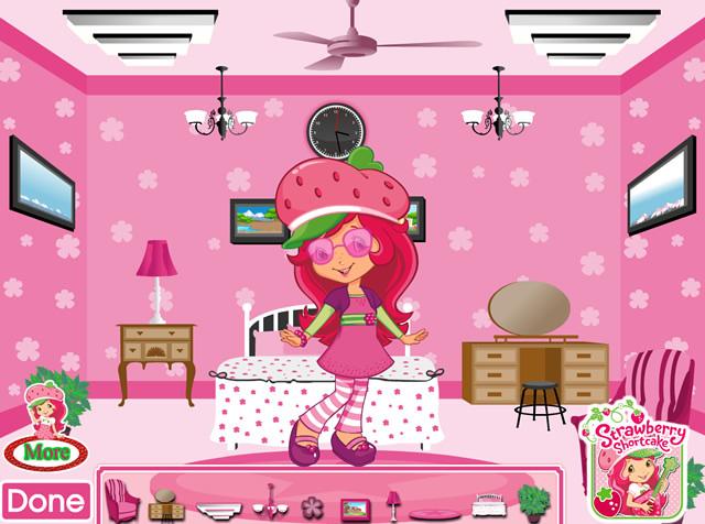 Jouer la chambre de charlotte aux fraises jeux for Redecorer sa chambre