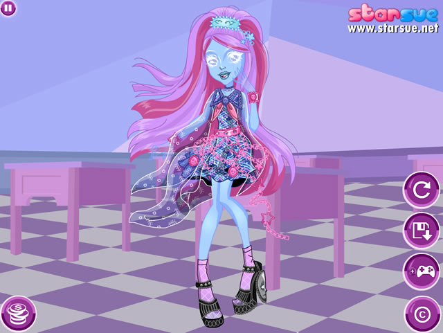 jouer kiyomi haunterly monster high jeux gratuits en. Black Bedroom Furniture Sets. Home Design Ideas