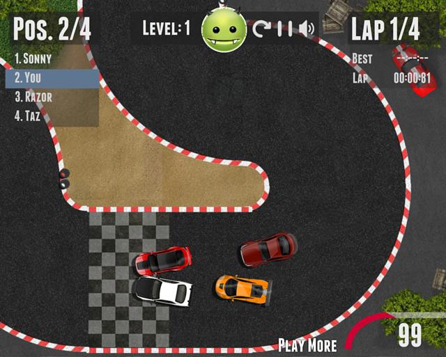 jouer course de voitures vue de dessus jeux gratuits en ligne avec. Black Bedroom Furniture Sets. Home Design Ideas