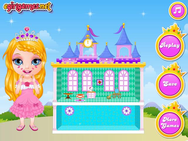 Jouer b b barbie maison de poup e jeux gratuits en - Jeux de barbie enceinte gratuit ...