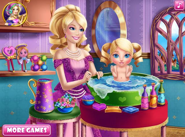 Jouer barbie donne un bain sa fille jeux gratuits en - Jeux de barbie enceinte gratuit ...