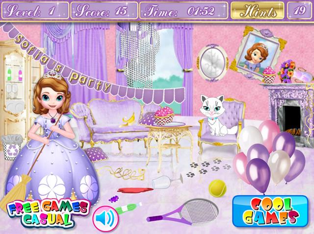 Jouer princesse sofia nettoie le ch teau jeux gratuits - Jeux de princesse sofia gratuit ...