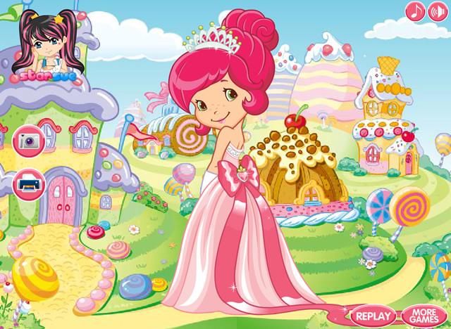 jouer charlotte aux fraises princesse jeux gratuits en ligne avec. Black Bedroom Furniture Sets. Home Design Ideas