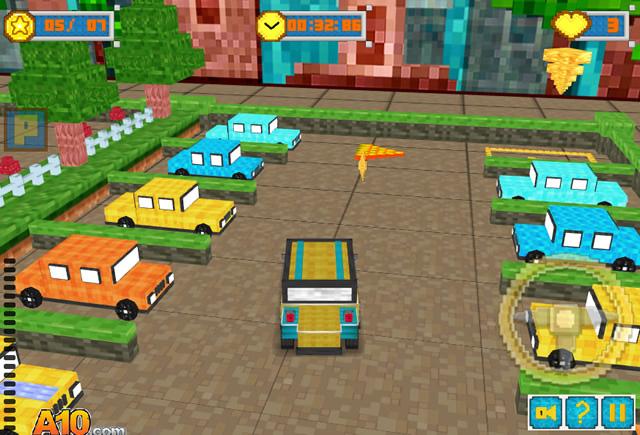 jouer the mega parking blocks jeux gratuits en ligne. Black Bedroom Furniture Sets. Home Design Ideas