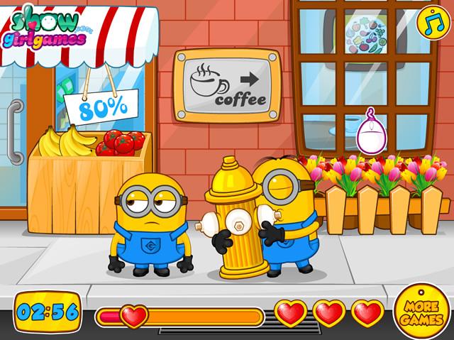 Jouer minion amoureux jeux gratuits en ligne avec - Les minions amoureux ...