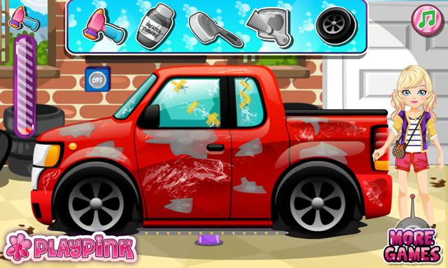 jouer nettoyer sa voiture jeux gratuits en ligne avec. Black Bedroom Furniture Sets. Home Design Ideas