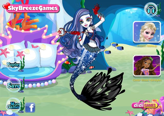 Jouer sirena von boo monster high jeux gratuits en ligne avec - Jeux de cuisine de monster high ...