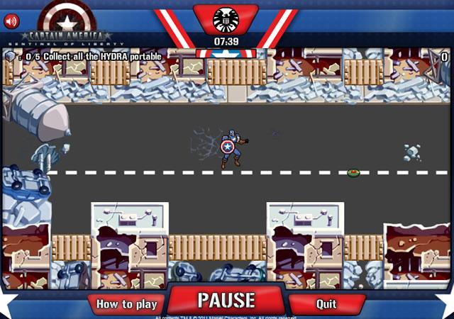 Jouer captain america sentinel of liberty jeux - Jeux de captain america gratuit ...