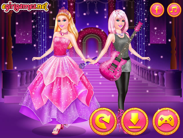 jouer barbie princesse ou rock n royals jeux gratuits en ligne avec. Black Bedroom Furniture Sets. Home Design Ideas