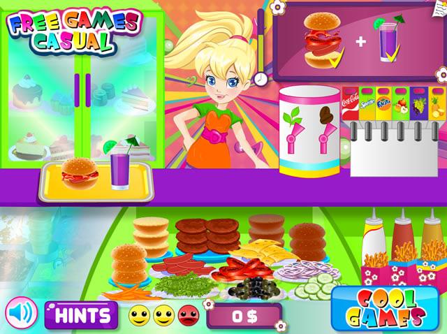Jouer polly pocket burger caf jeux gratuits en ligne - Polly pocket jeux gratuit ...