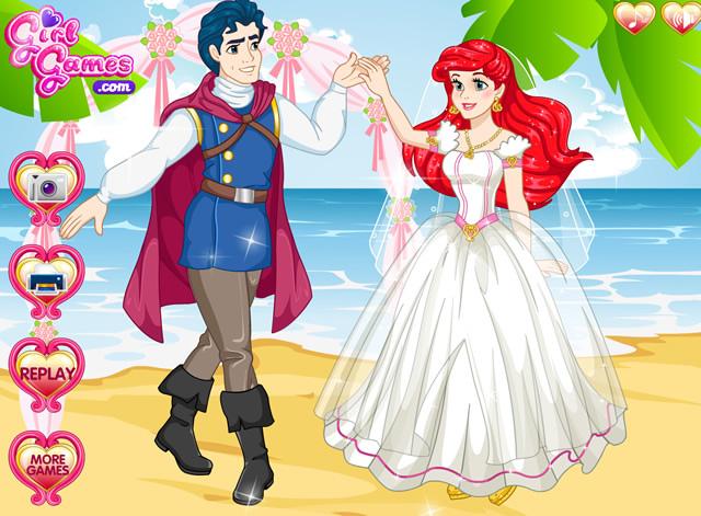 Jouer eric demande ariel en mariage jeux gratuits en for Robe de mariage conception de jeux en ligne gratuit