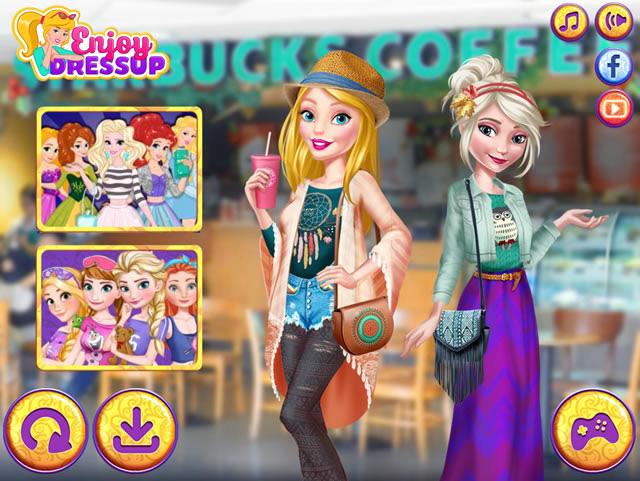 Jouer barbie et elsa meilleures amies jeux gratuits en - Jeux de fille gratuit barbie ...