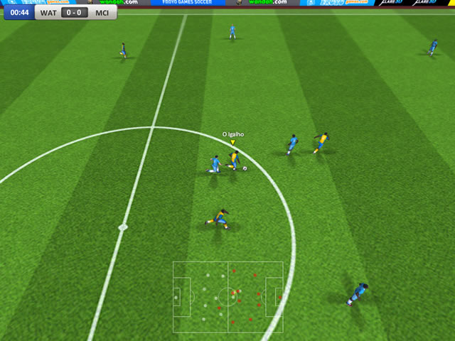 England Soccer League - Free online games at Agame.com