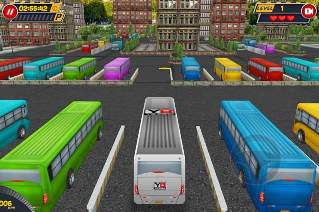 jouer bus parking 3d world jeux gratuits en ligne avec. Black Bedroom Furniture Sets. Home Design Ideas