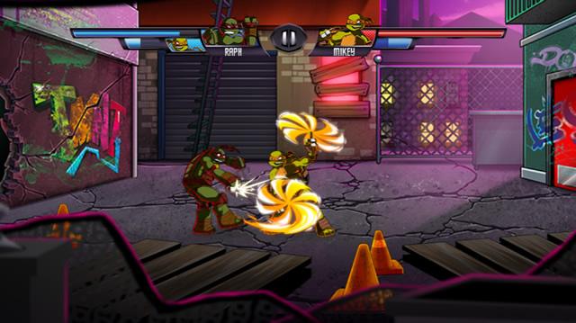 tmnt vs power rangers - Jeux De Tortue Ninja Gratuit
