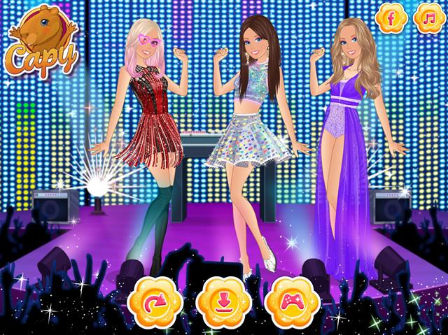 Jouer barbie rockstar vs popstar jeux gratuits en ligne avec - Jeux de barbie popstar ...