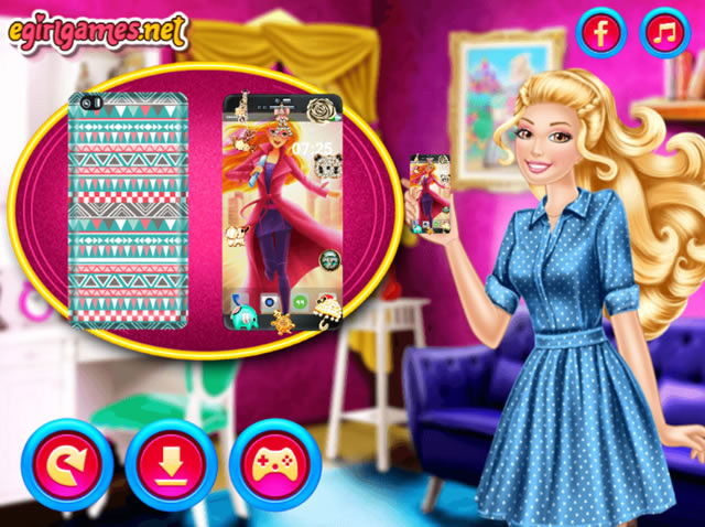 jouer le smartphone de barbie jeux gratuits en ligne. Black Bedroom Furniture Sets. Home Design Ideas
